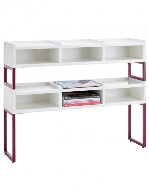 libreria blanca 1KM KA&S DIHWEB Tienda de decoración online. Productos de diseño y decoración, accesorios para el hogar, muebles de comedor y salón
