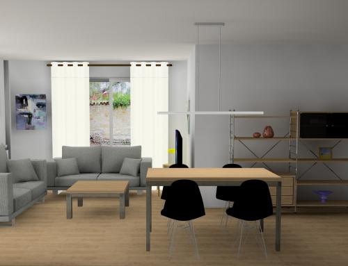 Salón con estilo