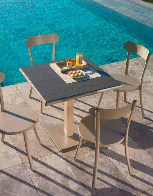 Silla de Jardín Bistro. Designers in-home. Muebles de diseño y decoración, accesorios para el hogar. Encuentra estilo en tu tienda de decoración