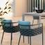 Silla de comedor exterior Kira. Designers in-home. Muebles de diseño y decoración, accesorios para el hogar. Encuentra estilo en tu tienda de decoración