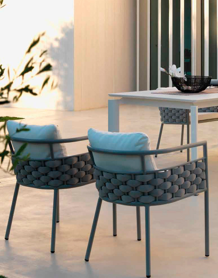 Silla de comedor exterior DIHWEB - La tienda de muebles online