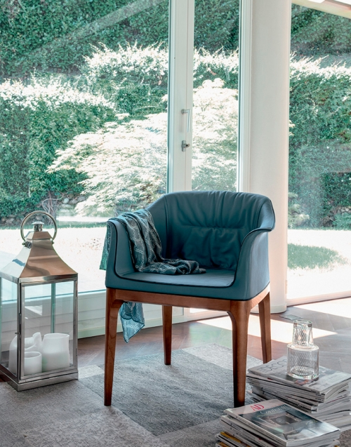 Silla confortable Mivida Designers in-home. Muebles de diseño y decoración, accesorios para el hogar. Encuentra estilo en tu tienda de decoración