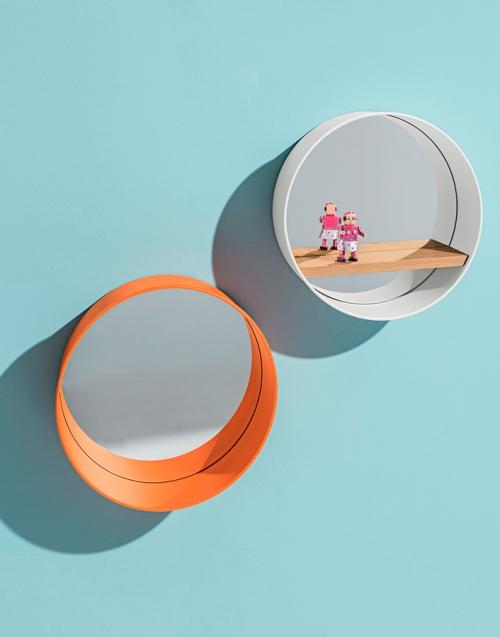 Espejo redondo Oblò Designers in-home. Muebles de diseño y decoración, accesorios para el hogar. Encuentra estilo en tu tienda de decoración