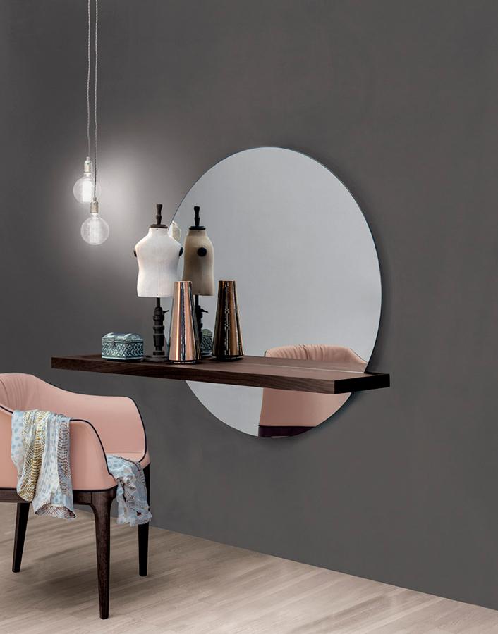Estante con espejo Sunset DIHWEB - La tienda muebles online