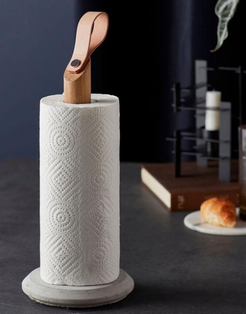 Portarrollos cocina Grab. DIH | Tienda de decoración online. Productos de diseño y decoración, accesorios para el hogar, muebles de comedor y salón