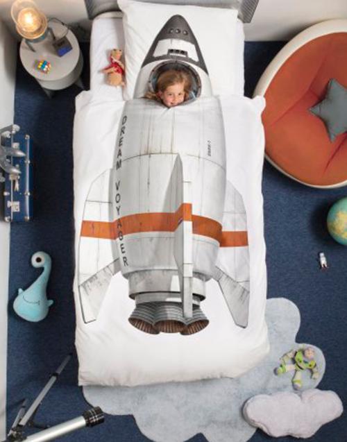 Funda Nórdica Cohete de Snurk Designers in-home. Muebles de diseño y decoración, accesorios para el hogar. Encuentra estilo en tu tienda de decoración