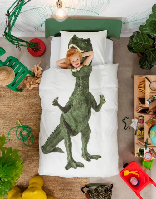 Funda Nórdica Dinosaurio de Snurk Designers in-home. Muebles de diseño y decoración, accesorios para el hogar. Encuentra estilo en tu tienda de decoración