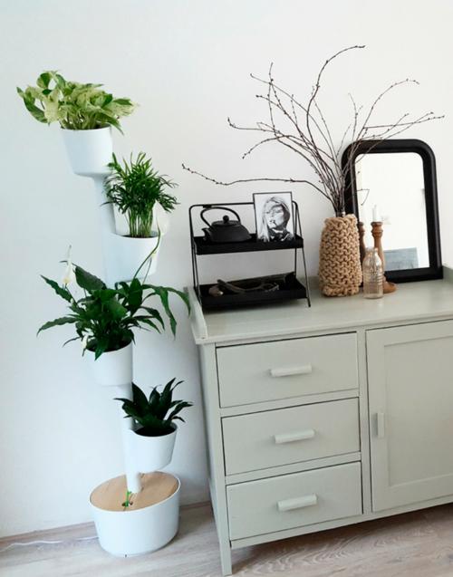 Jardín vertical blanco Designers in-home. Muebles de diseño y decoración, accesorios para el hogar. Encuentra estilo en tu tienda de decoración