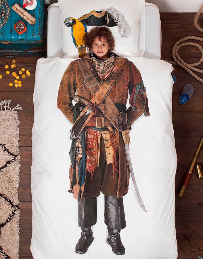 Funda Nórdica Pirata de Snurk Designers in-home. Muebles de diseño y decoración, accesorios para el hogar. Encuentra estilo en tu tienda de decoración