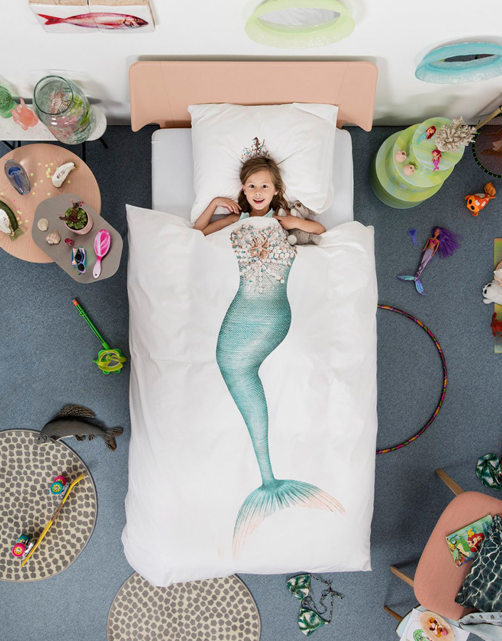 Funda Nórdica Sirena de Snurk Designers in-home. Muebles de diseño y decoración, accesorios para el hogar. Encuentra estilo en tu tienda de decoración