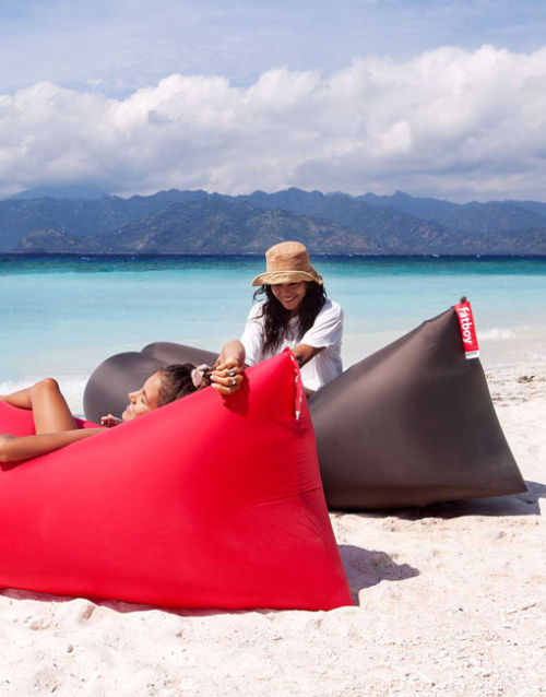Lamzac 2.0 tumbona hinchable hamaca portátil. DIH | Tienda de decoración. Productos de diseño y decoración, accesorios para el hogar, originales para regalo