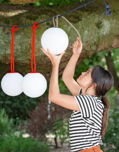 Lámpara colgante portátil BOLLEKE DIH | Tienda de decoración. Productos de diseño y decoración, accesorios para el hogar, originales para regalo
