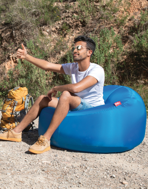 Puf transportable Lamzac O Designers in-home. Muebles de diseño y decoración, accesorios para el hogar. Encuentra estilo en tu tienda de decoración
