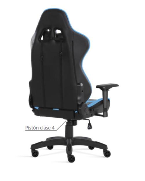La silla gaming Le Mans de Costa azul, es un accesorio que todos debemos tener en casa. Puede hacer la función de una silla para estudiar o trabajar desde casa, ademas de estar llena de detalles que la hacen destacar de las demás sillas en esta categoría. Obten una posicion recomendable y saludable con esta silla gaming Le Mans.