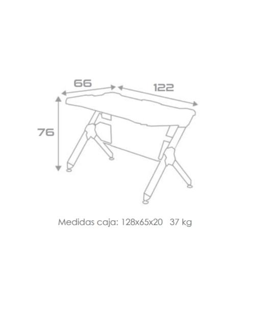 La mesa de escritorio R1 de Costa Azul, es un accesorio vital para todos los dormitorios. Esta especialmente diseñada para las necesidades de cada jugador. Esta innovadora mesa nos da la posibilidad de conectar cualquier dispositivo mediante USB, además de estar llena de impresionantes detalles que la hacen destacar de las demás mesas de escritorio en esta categoría. La calidad de este producto está garantizada por la marca y por nuestra casa.