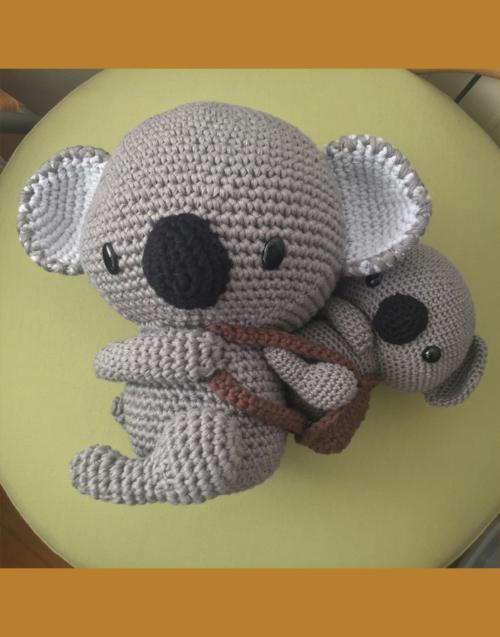 Koala amigurumi Designers in-home. Muebles de diseño y decoración, accesorios para el hogar. Encuentra estilo en tu tienda de decoración