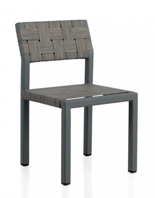 Silla Gris de Terraza Designers in-home. Muebles de diseño y decoración, accesorios para el hogar. Encuentra estilo en tu tienda de decoración